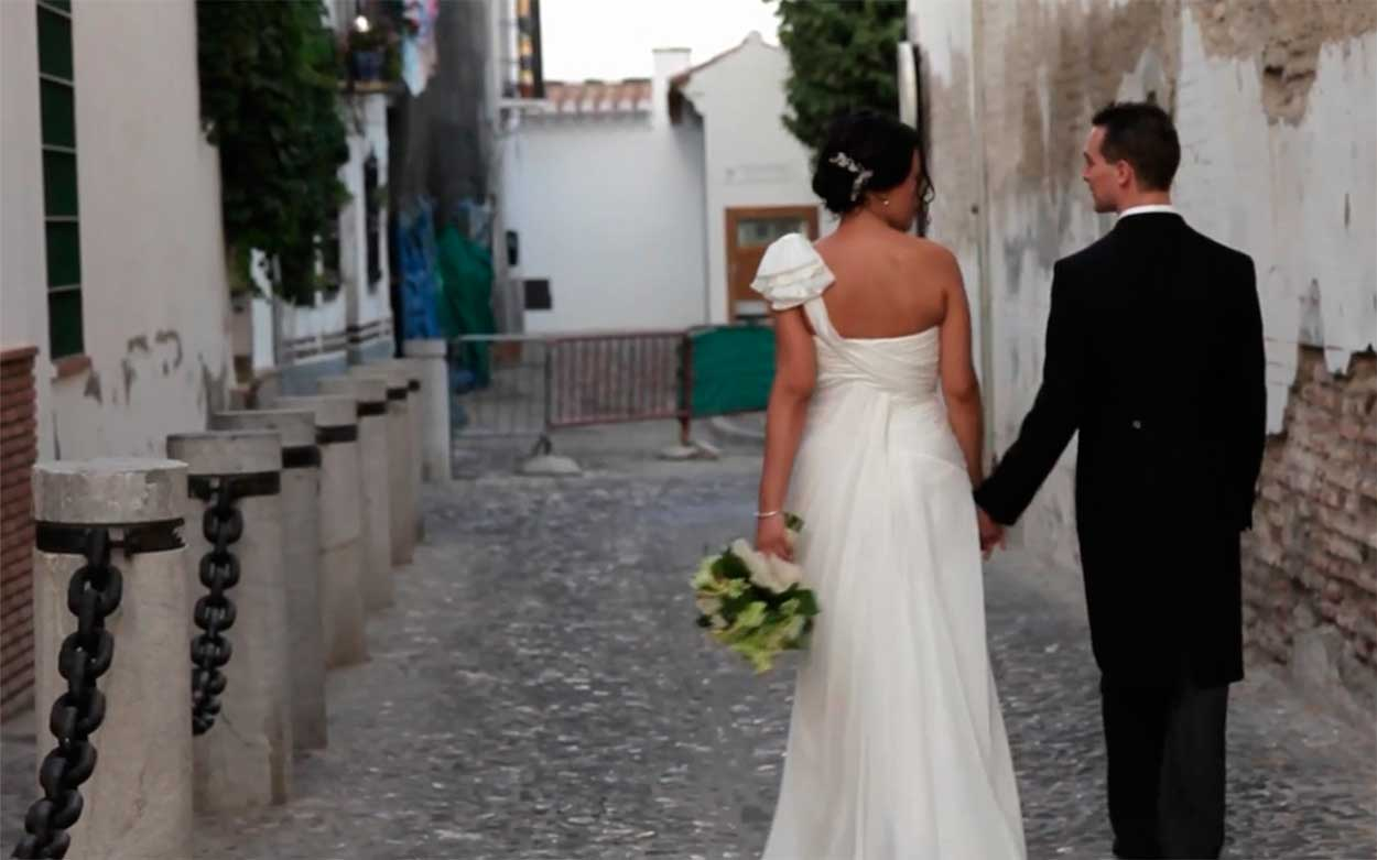 Vídeo natural de boda en Granada por Render Emotion
