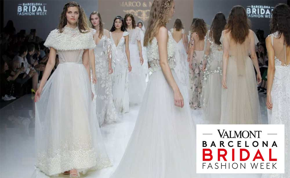 Tendencias en moda nupcial 2020 Bridal Week. Render Emotion. Fotógrafos de bodas